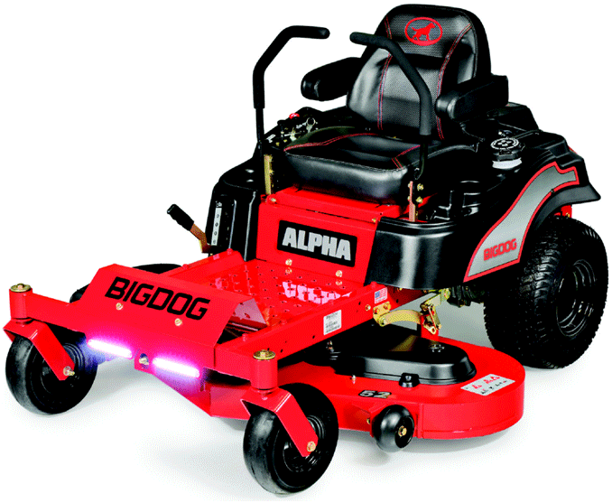 Tondeuse Alpha de Big Dog mower co.