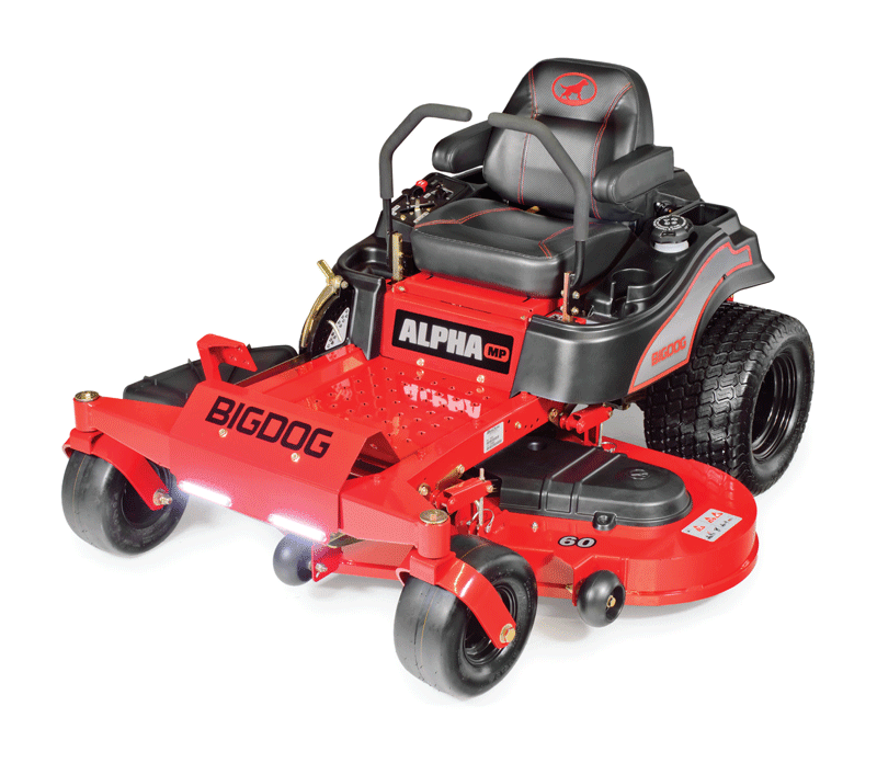 Tondeuse Alpha MP de Big dog mower co