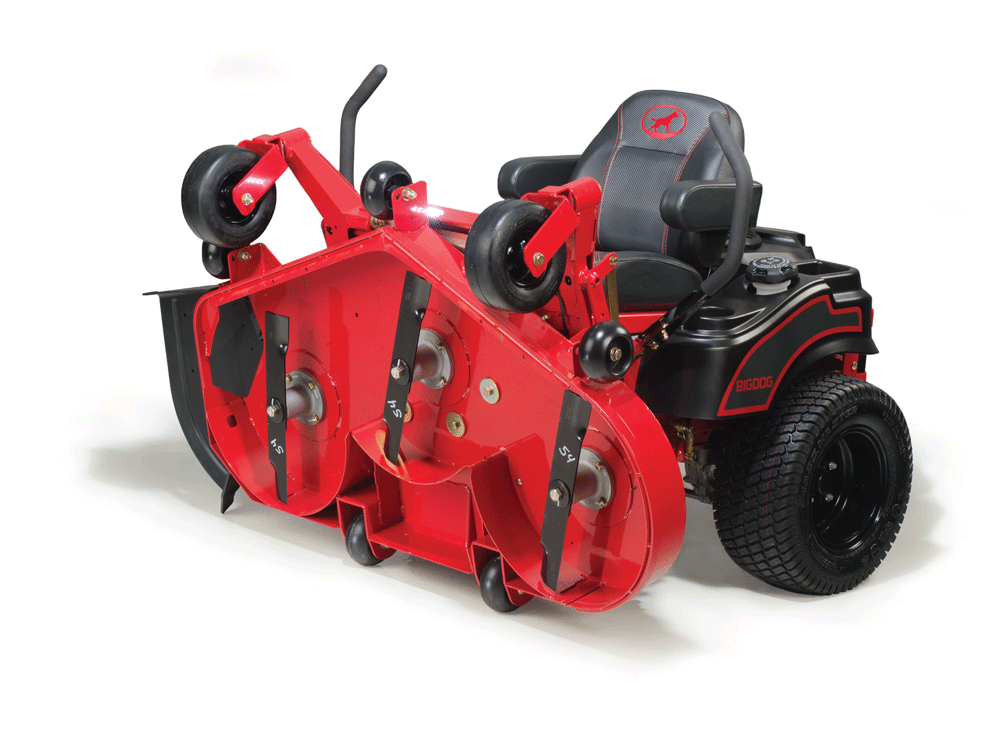 Tondeuse Blackjack de Big Dog mower co.